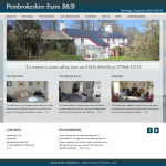 Pembrokeshire Farm Bed and Breakfast Website