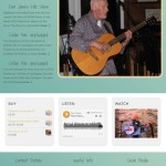 Paul Hayes Folk Music Website
