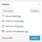 Save Draft WordPress Post