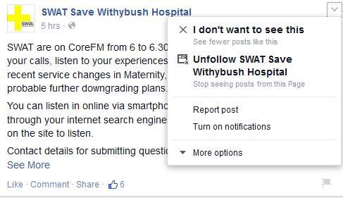 Turn on Facebook notifications
